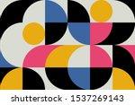 geometry minimalistic artwork... | Shutterstock .eps vector #1537269143