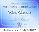 classic formal certificate of...   Shutterstock .eps vector #1537271849