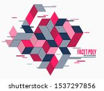 abstract polygonal background...   Shutterstock .eps vector #1537297856