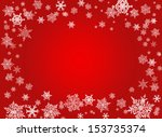 red christmas background with... | Shutterstock . vector #153735374