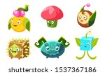 cute funny monsters set ...