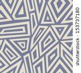 seamless geometric background.... | Shutterstock .eps vector #153737180