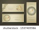 prophet muhammad in arabic... | Shutterstock .eps vector #1537405586