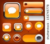 speech bubble design elements... | Shutterstock .eps vector #153745778