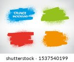 abstract grunge banners.dirty... | Shutterstock .eps vector #1537540199