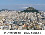Athens Cityscape  And...
