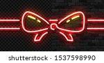 vector realistic isolated neon...   Shutterstock .eps vector #1537598990