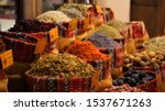 Colorful Herbal And Spices...
