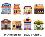european and oriental food...   Shutterstock .eps vector #1537672850