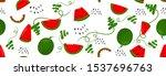 seamless pattern bright light... | Shutterstock .eps vector #1537696763