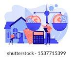 real estate agency  property... | Shutterstock .eps vector #1537715399