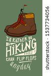 Vintage Hiking Boots With A...