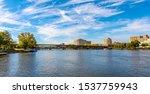 Rock River View In Rockford...