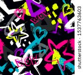 abstract seamless grunge... | Shutterstock .eps vector #1537763603