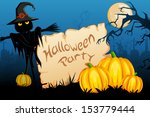 vector illustration of scary... | Shutterstock .eps vector #153779444
