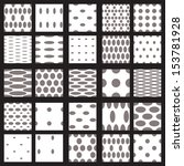 Set Of Elegant Dot Patterns In...