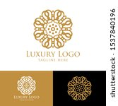luxury logo template. vintage...   Shutterstock .eps vector #1537840196