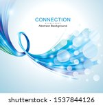 technology connections optical...   Shutterstock .eps vector #1537844126