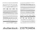 marker hand drawn vector line... | Shutterstock .eps vector #1537924856