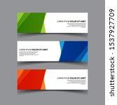 vector abstract design banner...   Shutterstock .eps vector #1537927709
