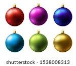 realistic matt colored... | Shutterstock .eps vector #1538008313