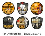 Halloween Horror Night Badges...