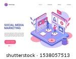 social media marketing landing...