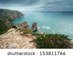 cape roca   the most western... | Shutterstock . vector #153811766