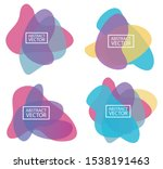 abstract organic shapes from in ...   Shutterstock .eps vector #1538191463