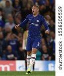 Small photo of Ross Barkley of Chelsea - Chelsea v Valencia, UEFA Champions League - Group H, Stamford Bridge, London, UK - 17th September 2019