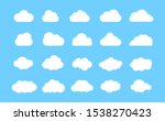 cloud. abstract white cloudy... | Shutterstock .eps vector #1538270423