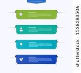 vector info graphics for your... | Shutterstock .eps vector #1538283506