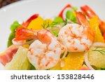Close Up Shrimp With Avocado...