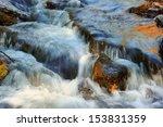 Beautiful Water Cascade Over...