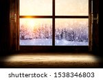 Window Sill Of Free Space For...