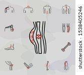 soft tissue injuries   pain...   Shutterstock .eps vector #1538405246