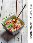 chinese mix vegetables with... | Shutterstock . vector #153843413