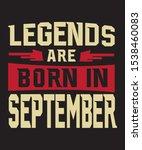 las leyendas nacen en... | Shutterstock .eps vector #1538460083