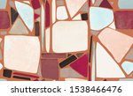 mosaic. seamless pattern with... | Shutterstock . vector #1538466476