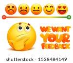 feedback concept. rank  level... | Shutterstock .eps vector #1538484149