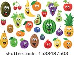 Fruits Characters Collection ...