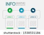 vector horizontal infographic... | Shutterstock .eps vector #1538531186