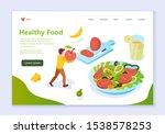 concept of healthy food  web... | Shutterstock .eps vector #1538578253