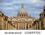 View At St. Peter's Basilica In ...