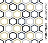 vector simple geometric... | Shutterstock .eps vector #1538599940