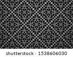 flower geometric pattern.... | Shutterstock .eps vector #1538606030