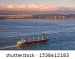 container cargo ship  import... | Shutterstock . vector #1538612183
