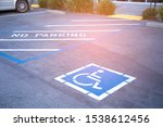 free space handicapped parking... | Shutterstock . vector #1538612456
