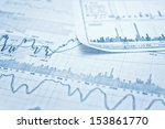 showing business and financial... | Shutterstock . vector #153861770