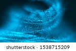 a whirlwind of luminous...   Shutterstock . vector #1538715209